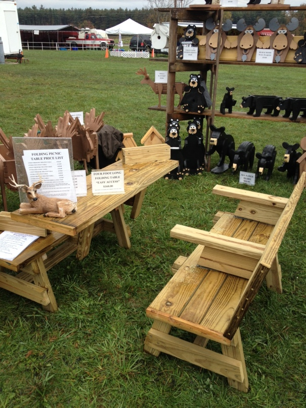 Folding Bench Picnic Table Plans How to DIY wood class projects ...