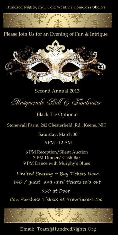 Hundred Nights Masquerade Ball