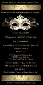 Hundred Nights Masquerade Ball
